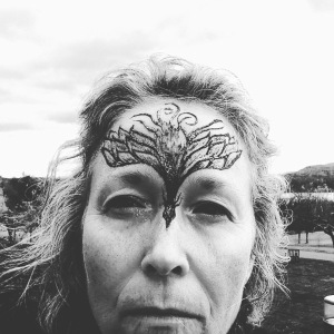 Woman, Phoenix, Wind, Election Eve